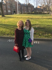 Maddie and me at Bethany in the spring of 2017.