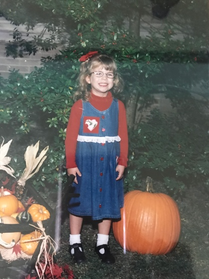 Maddie pictured at St. Paul Lutheran Preschool. She was in Ms. Megan's and Ms. Wanda's class.