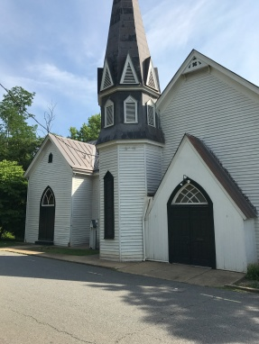 Woolen Mills Chapel, still in use today.