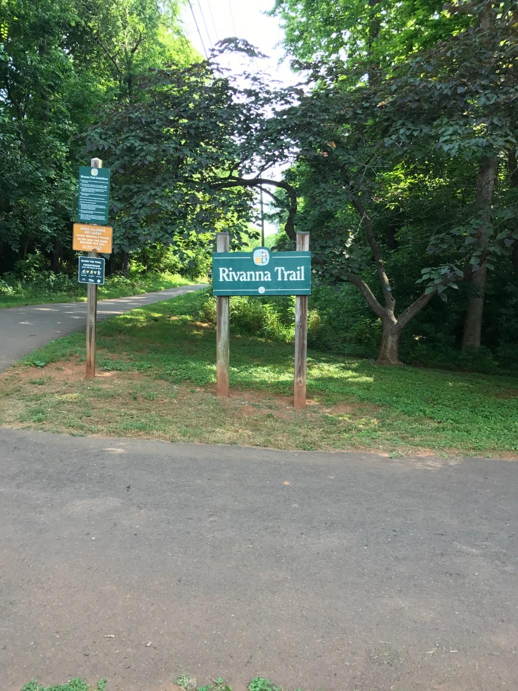 Rihanna River Trail access from the neighborhood park