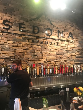 Sedona Taphouse, a restaurant in which offered plenty of tasty offerings, including a plethora of gluten-free choices.