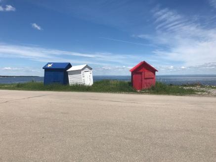 Petit Rocher Wharf of New Brunswick's Acadian Coast