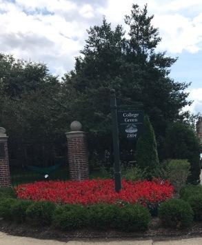 College Green of Ohio University.