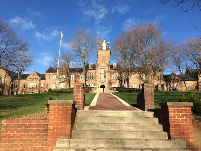 Bethany College on a sunny, winter day.