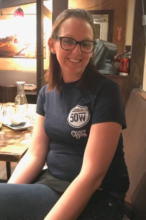 Nicole, our super sweet waitress at 50 West