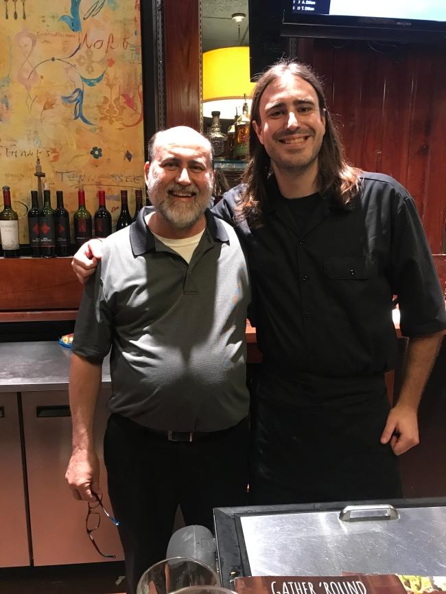 Orangeburg, SC Ruby Tuesday's General manager, Anthony Dealoia & Bartender/Waiter, Webb