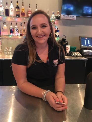 Hayley Beaman, Bar Manager, Top Dawg Tavern, Columbia, SC