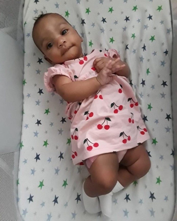 My great niece, Harper.